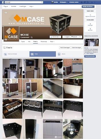 Bekijk het M-case fotoboek op Facebook